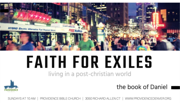Faith for Exiles Image